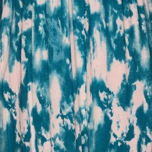 Lush Dresses - Lush Green White Tie Dye Maxi Dress A030682